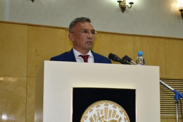 Юлай Ильясов три года был главой администрации Куюргазинского района