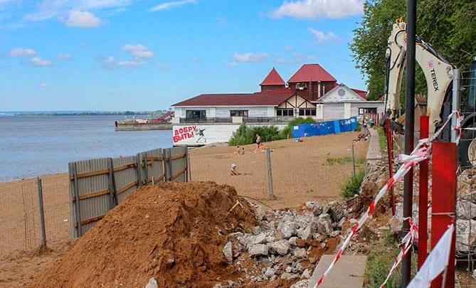 Власти Тольятти закроют набережную 6-го квартала Автозаводского района