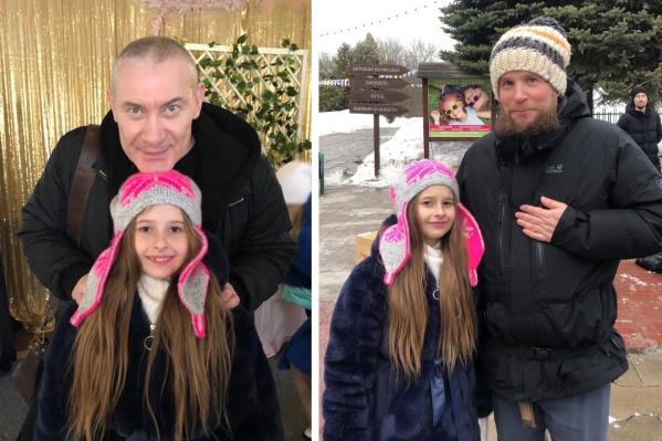 На одной площадке с Виталиной из Самары снялись известные российские актеры: Игорь Жижикин (слева) и Александр Ситкин