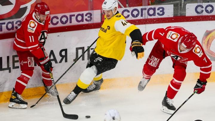 Хоккеисты «Северстали» разгромили «Автомобилист» в Екатеринбурге