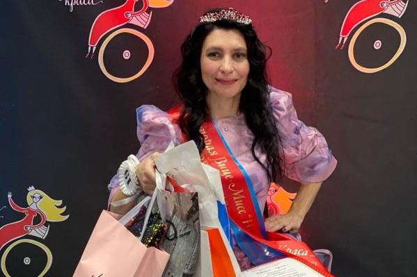 Оксана Моисеева завоевала титул второй вице-мисс и «Леди активность»