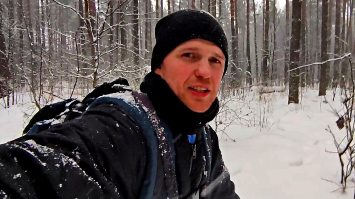 Тревел-шоу по-ярославски: бизнесмен провел ночь в зимнем лесу. Как это было