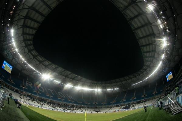 Матч начнется в 18:00 на «Волгоград-Арене»