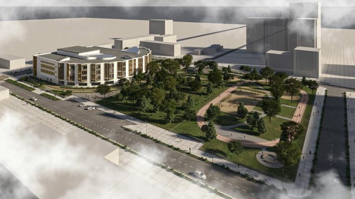 Проект краевой музыкальной школы на Парковом прошел госэкспертизу. Показываем, как будет выглядеть новое здание