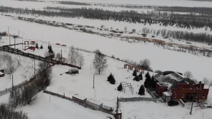 «Воздух свободы»: как выглядит сверху закрытая на реконструкцию вертолетная площадка в Самаре