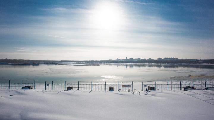 После снегопада и заморозков в Новосибирск придет потепление до +5 градусов