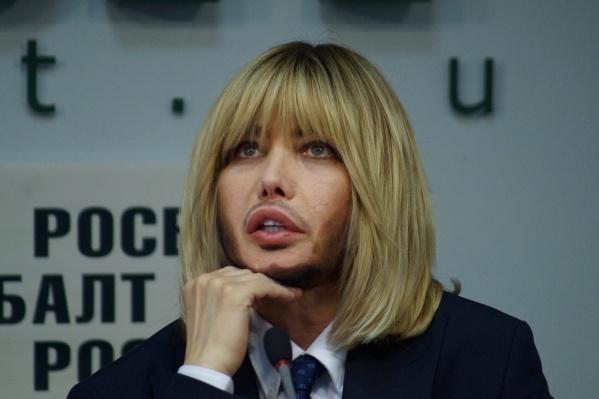 Сергей Зверев на недавней пресс-конференции партии