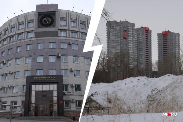 Арбитражный суд решил сменить прописку в самом центре Челябинска на Северо-Запад