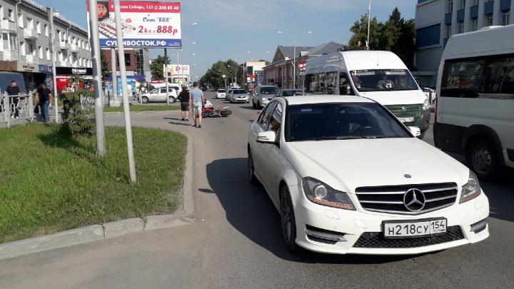 Под Новосибирском 26-летний мотоциклист на «Дукати» разбился насмерть