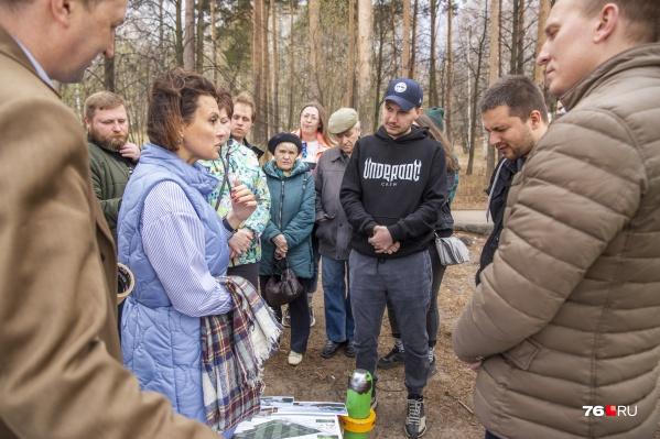 Чиновники пообещали ярославцам, что их мнения по проекту благоустройства Павловской рощи учтут во время общероссийского голосования