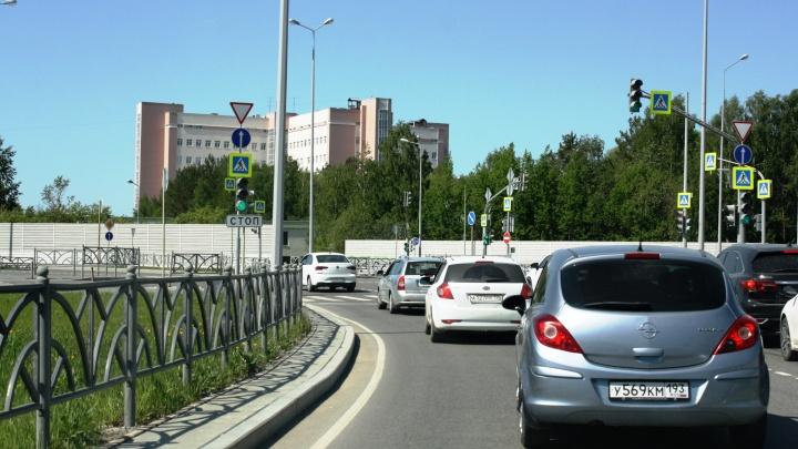 Жителям Академического упростили въезд в район: для этого убрали один-единственный дорожный знак