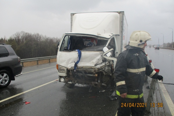 Авария произошла в Ростовском районе