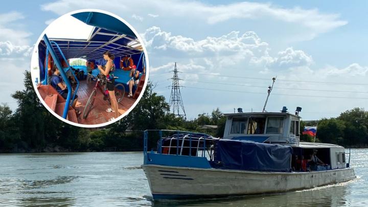 Самый необычный транспорт Краснодара. Как работает речная переправа в Адыгею