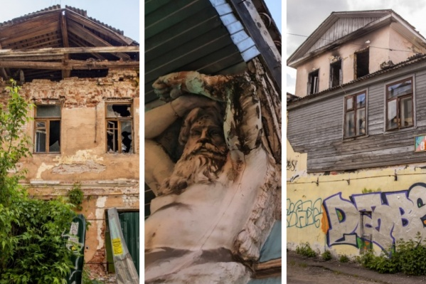 Исторические дома, судьба которых неизвестна