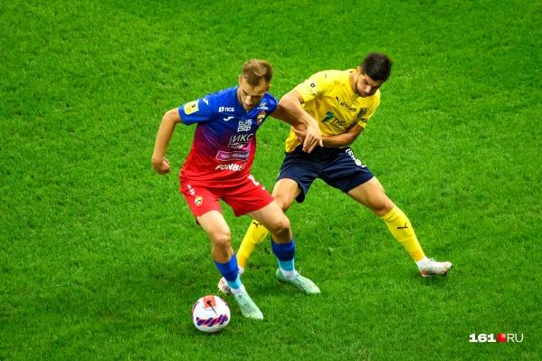 «Ростов» в четырех матчах набрал лишь одно очко