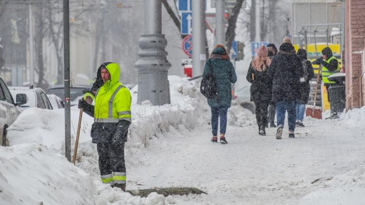 Алексей Дёмкин рассказал о расчистке пермских улиц по время сильных снегопадов