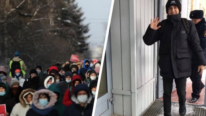 «С Бойко его не посадят»: участника коалиции «Новосибирск2020» арестовали на7суток заорганизацию митинга