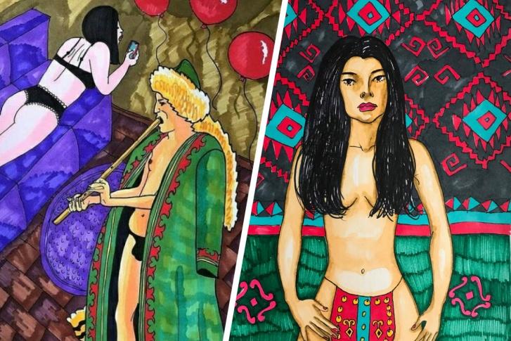 Курай стал символом эротизма