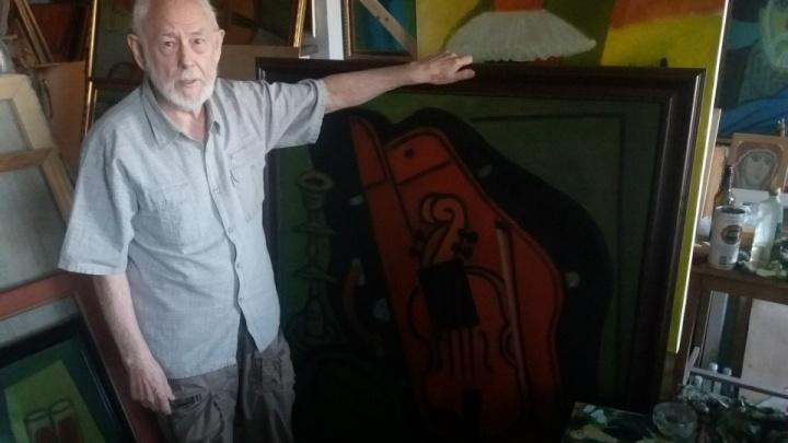 В Волгограде простятся с художником Глебом Вяткиным