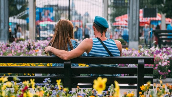 В парке на аттракционах: как десантники по-семейному отметили День ВДВ