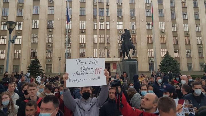 Автозаки не понадобились. В Краснодаре прошла акция в поддержку политика Алексея Навального