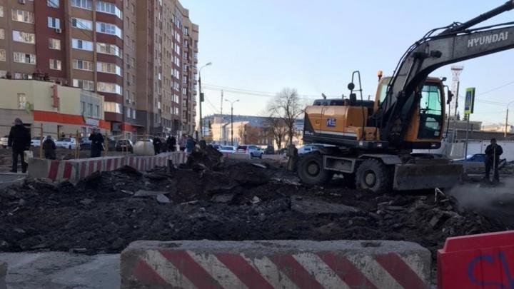 Уфимцы возмутились внезапным перекрытием участка на Комсомольской. В мэрии всё отрицают