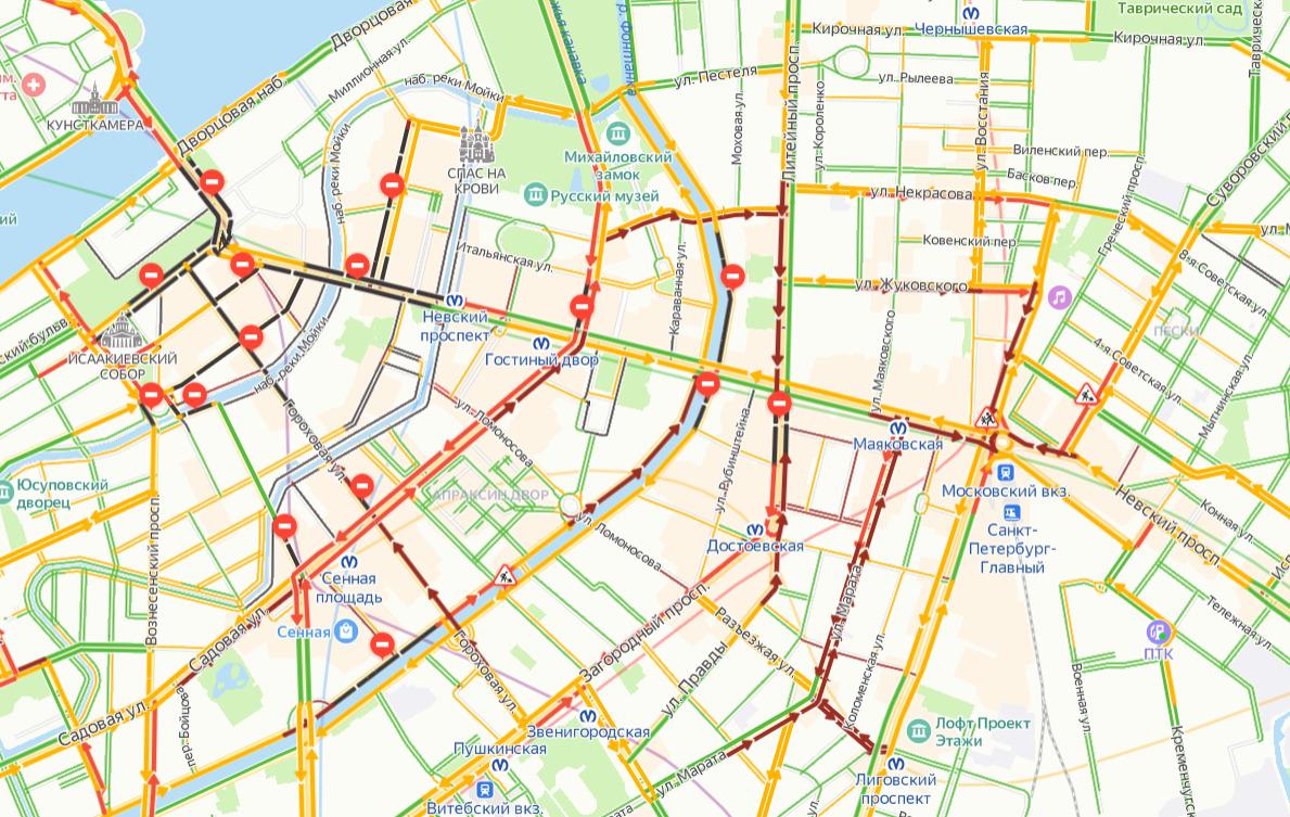 скриншот с сайта «Яндекс.Карты»