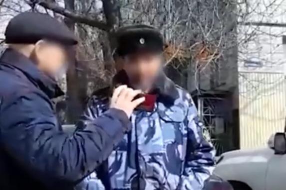 Подполковника внутренней службы задержали в центре Волгограда