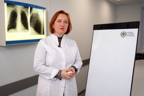 Профессор Ольга Курушина