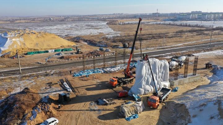 Часть обхода Горьковского в Волгограде обещают сдать к сентябрю 2021 года