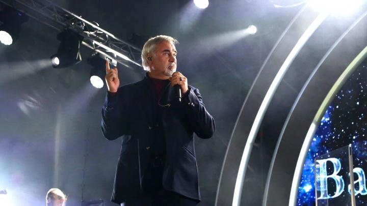 Валерий Меладзе выступил на «Столице закатов». Смотрим фотографии с концерта