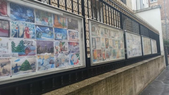 Рождественские рисунки детей из Прикамья украсили выставку в Париже. Публикуем их работы