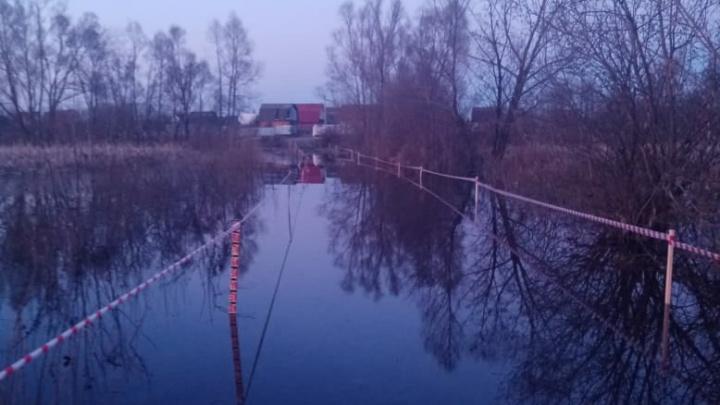 Если уровень Белой в Уфе поднимется еще на несколько сантиметров, то затопит улицу Ахметова в Затоне