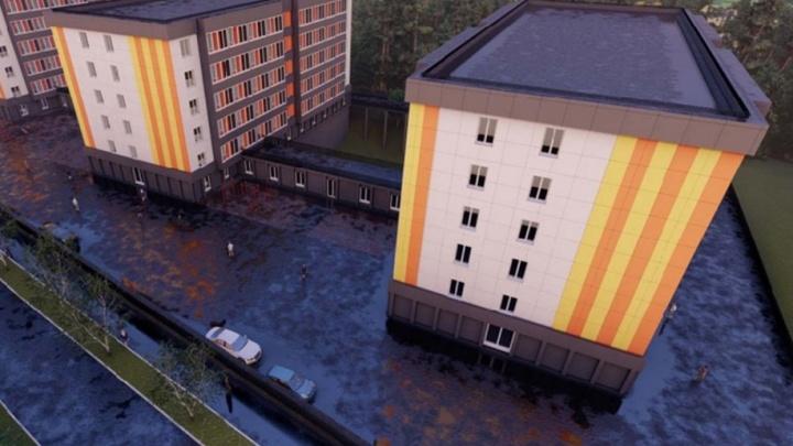 С тренажерами, буфетом и местами для отдыха: политех построит в Перми новые общежития для студентов