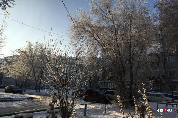 Январь в Кургане обещает быть холодным и довольно малоснежным