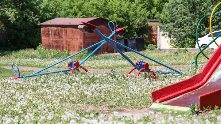 Детские площадки считают опасными четверо уфимцев из пяти. Общественная палата раскрыла результаты опроса