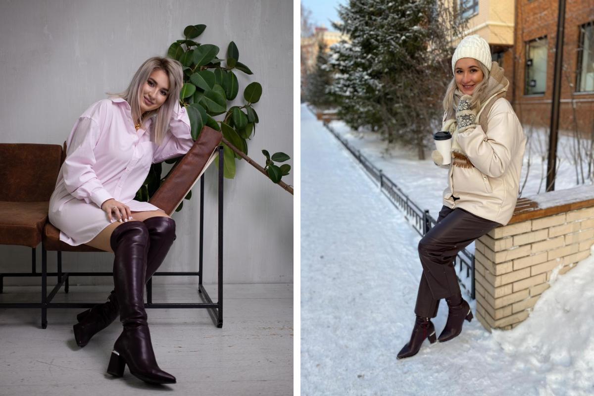 Сибирячке трудно находить актуальную обувь из-за большого размера ноги