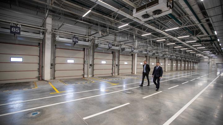 Могильщик Хилка: под Новосибирском открыли гигантский продуктовый распредцентр за 8,6млрд. Что внутри?