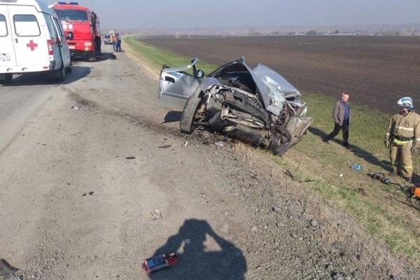 ДТП произошло на 108-м километре трассы Тюмень — Омск