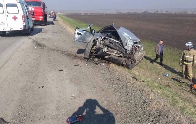В аварии на тюменской трассе погиб пенсионер
