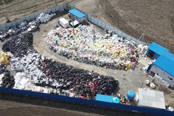 Так выглядит самбекский полигон с высоты полета квадрокоптера