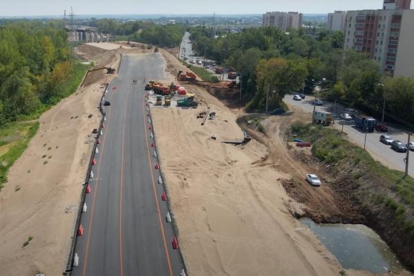 Работы проводят в рамках строительства второй очереди Самарского (Фрунзенского) моста