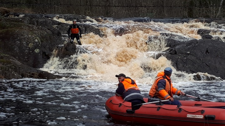В Карелии на реке Шуе пропали двое байдарочников из Волгограда