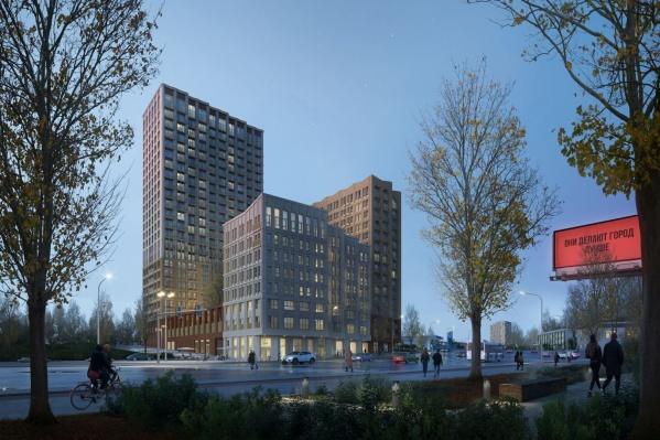 Разноуровневый квартал станет новой достопримечательностью левого берега