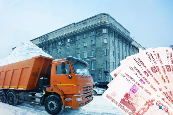 Пока одни новосибирцы страдают от сугробов на улице и обилия осадков этой зимой, другие делают на этом деньги