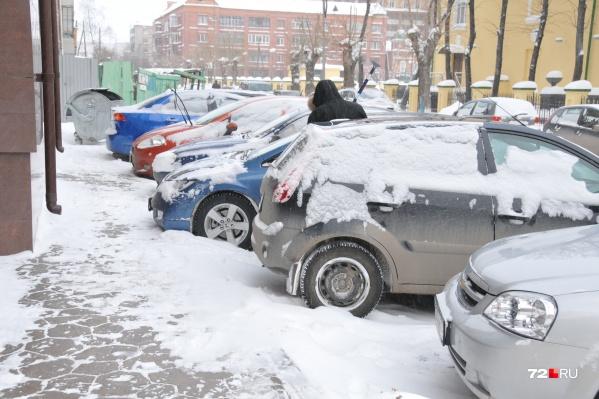 В центре не оставят бесплатных парковок
