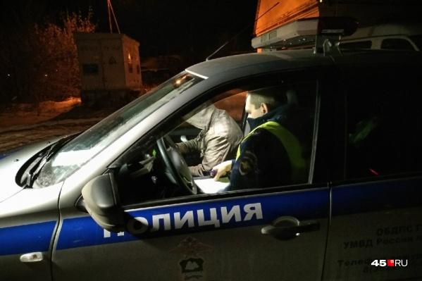 Тюменец устроил пьяную ночную погоню от полиции по улицам Кургана