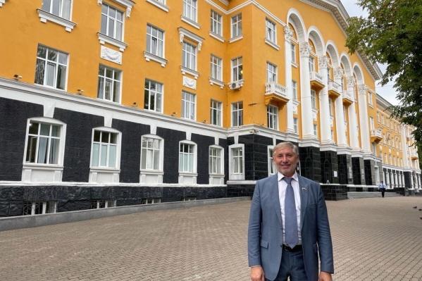Рафаэль Марданшин, кандидат в депутаты Государственной думы от партии «Единая Россия»