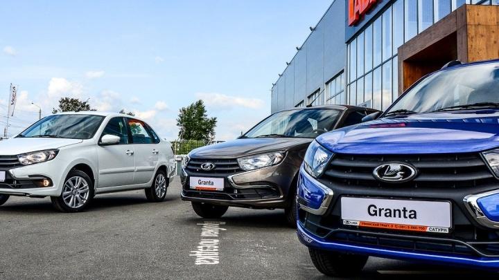 Lada снова в лидерах: с начала года продажи автомобилей в крае выросли на четверть