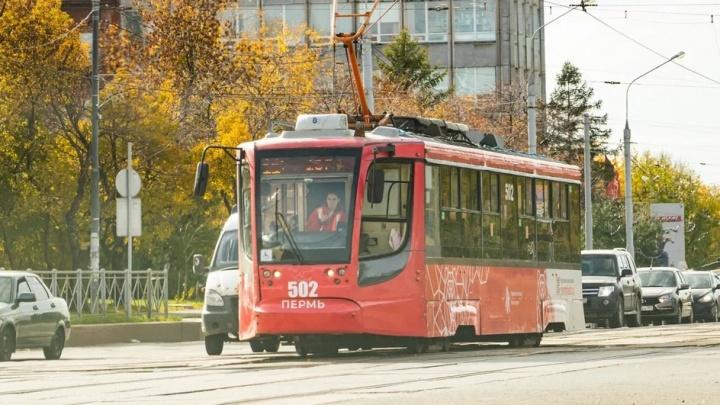 У пермских трамваев появились видеонаблюдение и датчики пассажиропотока